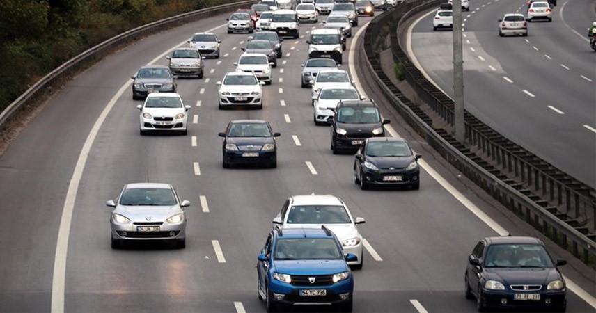 Yılın ilk yarısında trafiğe 313 bin 213 araç kaydı yapıldı