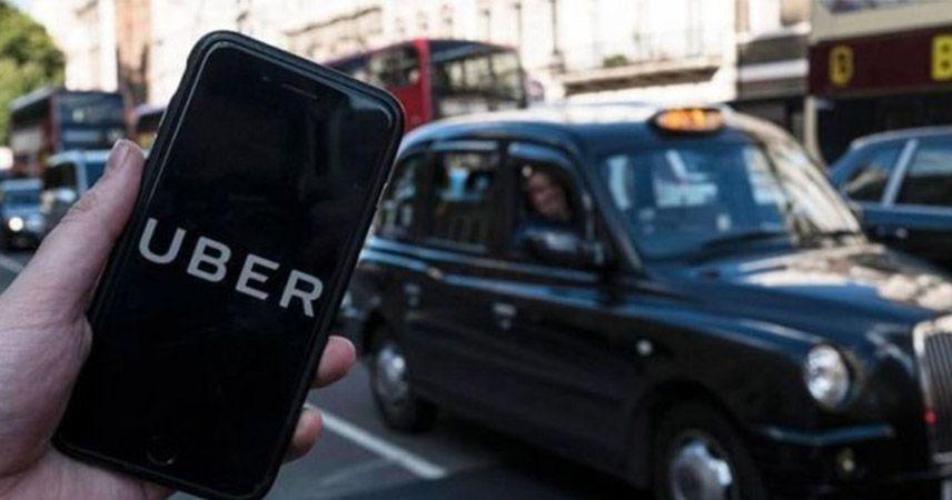 Almanya da Uber'i yasakladı