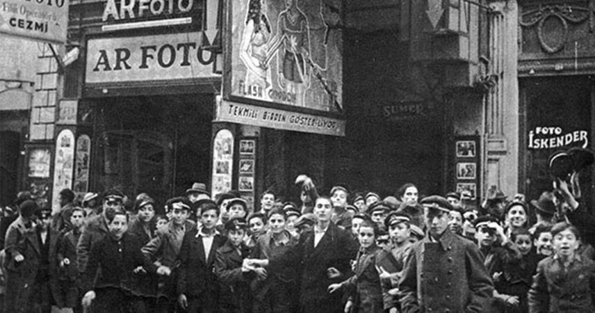Beyoğlu sinemalarında biletin karaborsa olduğu yıllar