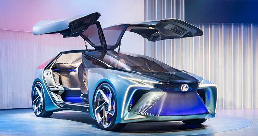 Lexus'un modelleri 'UX 300e' ve 'LF-30' Kenshiki Forum 2020'de