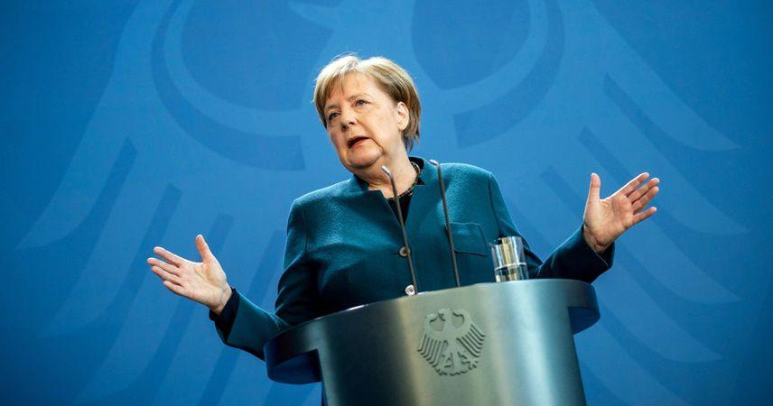 Merkel, koronavirüsün etkisini anlattı