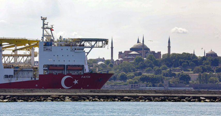 Fatih sondaj gemisi yola çıktı