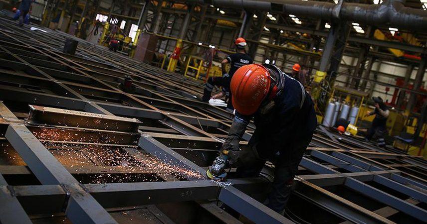 Sanayi üretimi mayısta yıllık bazda yüzde 19,9 düştü