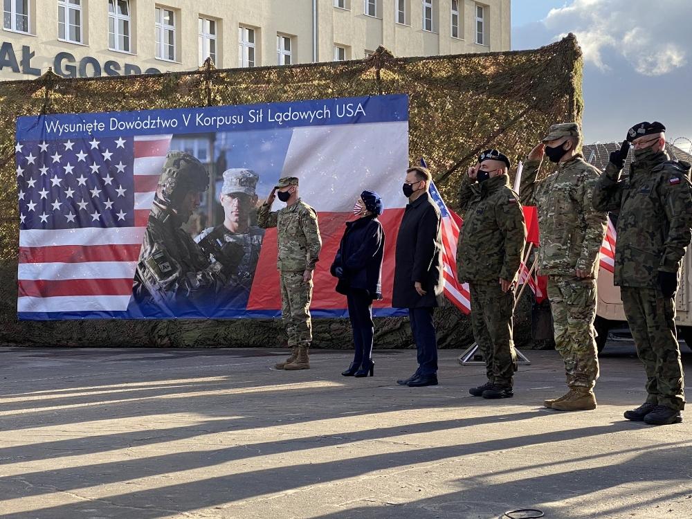 ABD'nin Polonya'daki İleri Komuta Merkezi faaliyetlerine başladı