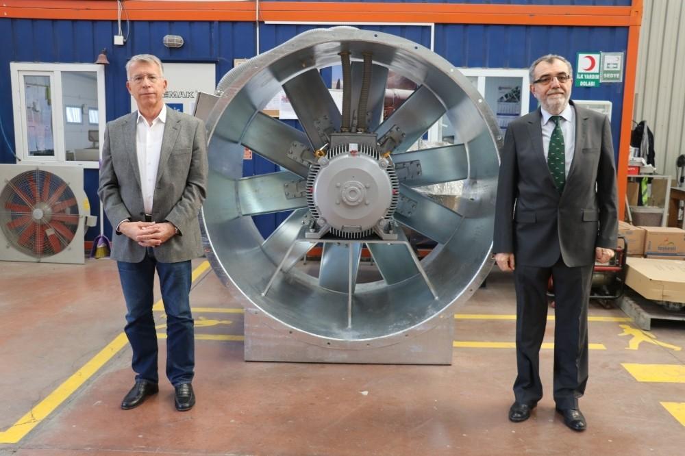 Yalova'da ürettikleri fanları dünyaya satıyorlar