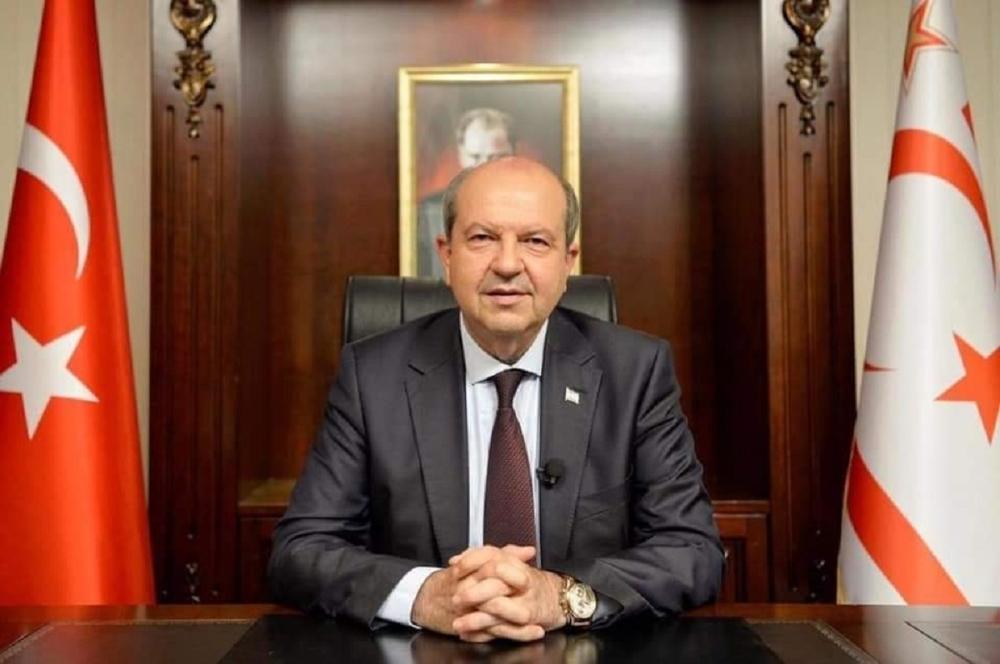 """KKTC Cumhurbaşkanı Tatar: """"Resmi müzakereler ancak iki eşit devlet temelinde başlayabilir"""""""