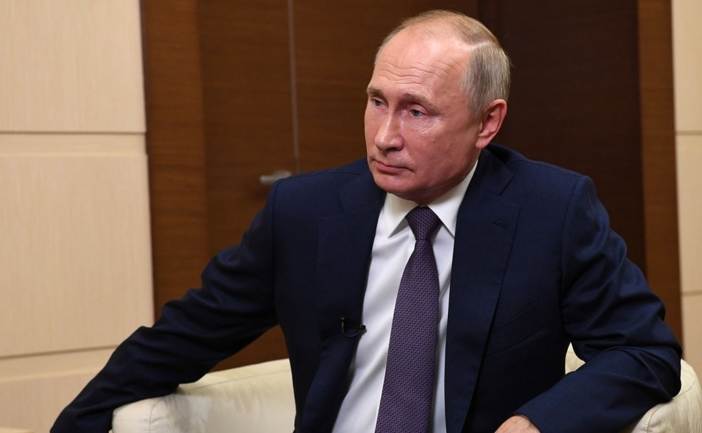 """Rusya Devlet Başkanı Putin: """"Toplu aşılama önümüzdeki hafta başlayacak"""""""