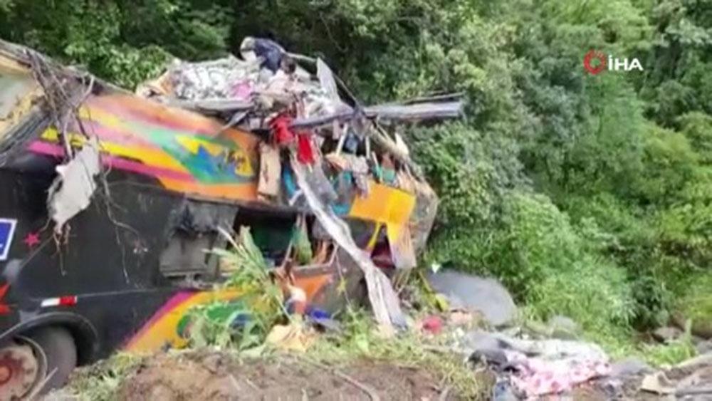 Brezilya'da otobüs kazası: 21 ölü, 33 yaralı