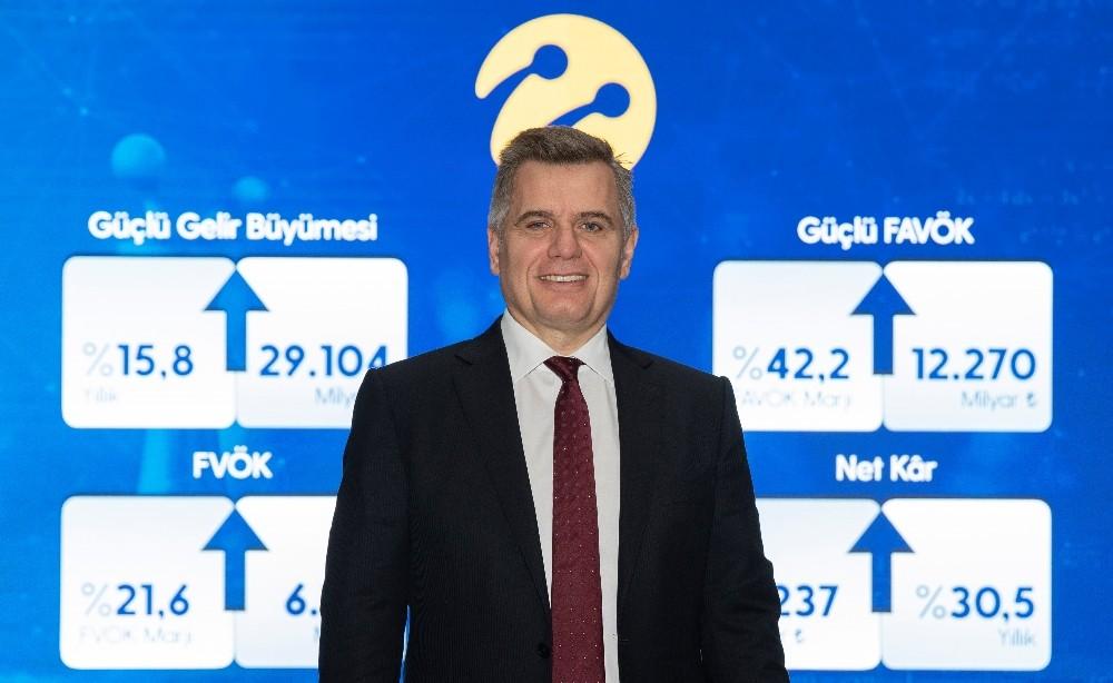 Müşteri odaklılık ve dijitalleşme stratejisi Turkcell'de güçlü büyüme getirdi