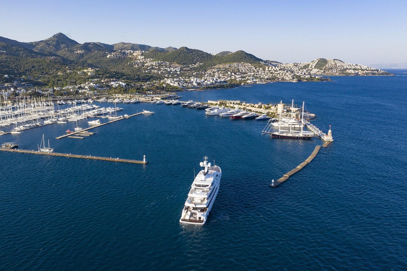Türkiye kıyılarının şartları ve yerleşim yerlerine yakınlığı nedeni ile marinalarla çevrili. (Fotoğraf: Bodrum Yalıkavak Marina)