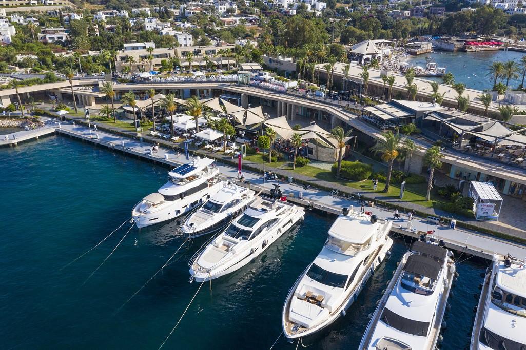 Marinalar iç ve dış turizm için çok önemli. (Fotoğraf: Bodrum Yalıkavak Marina)