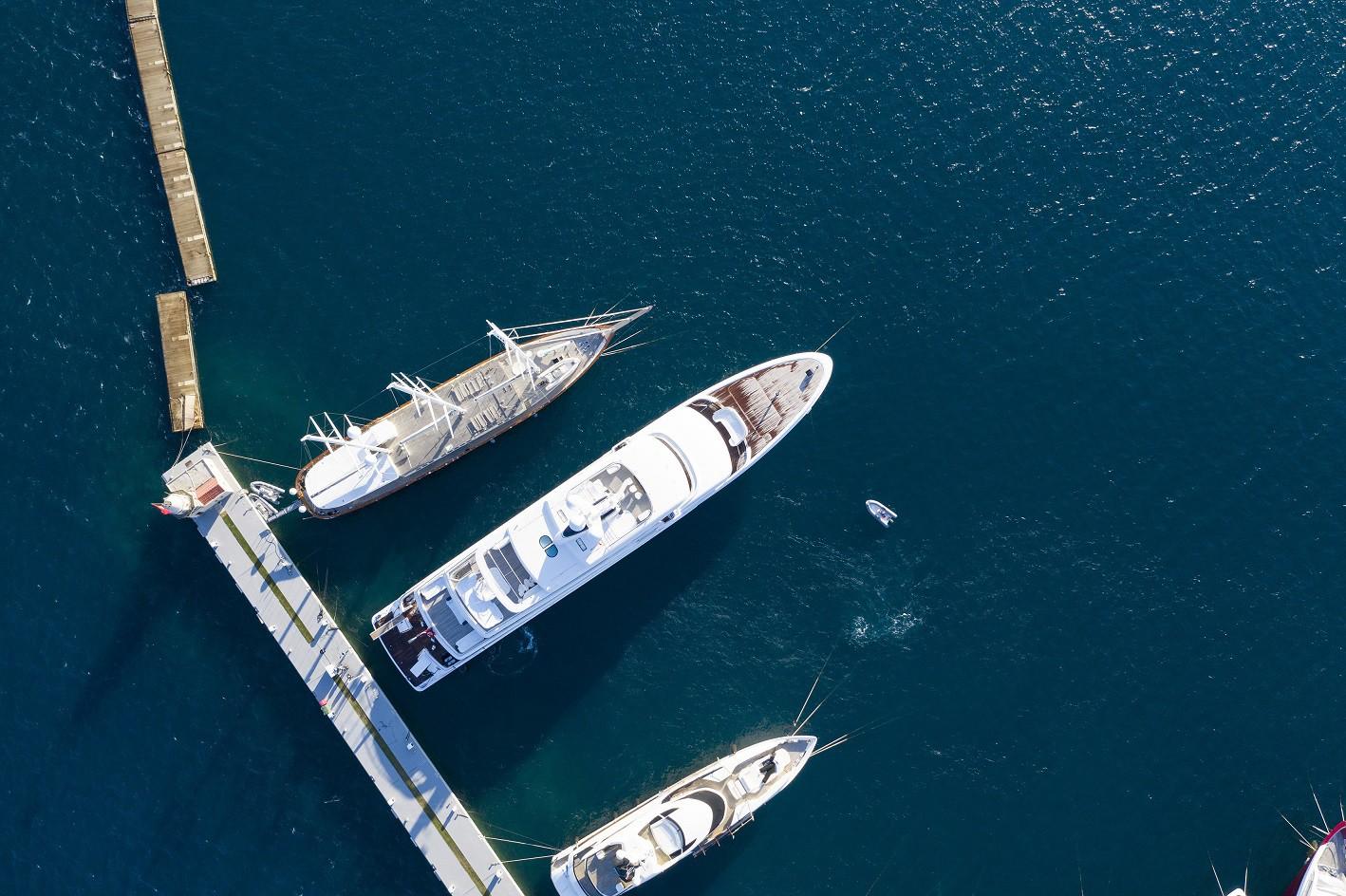 Bazı marinalar 10 araçlıkken, bazıları ise bir filoya hizmet veriyor. (Fotoğraf: Bodrum Yalıkavak Marina)