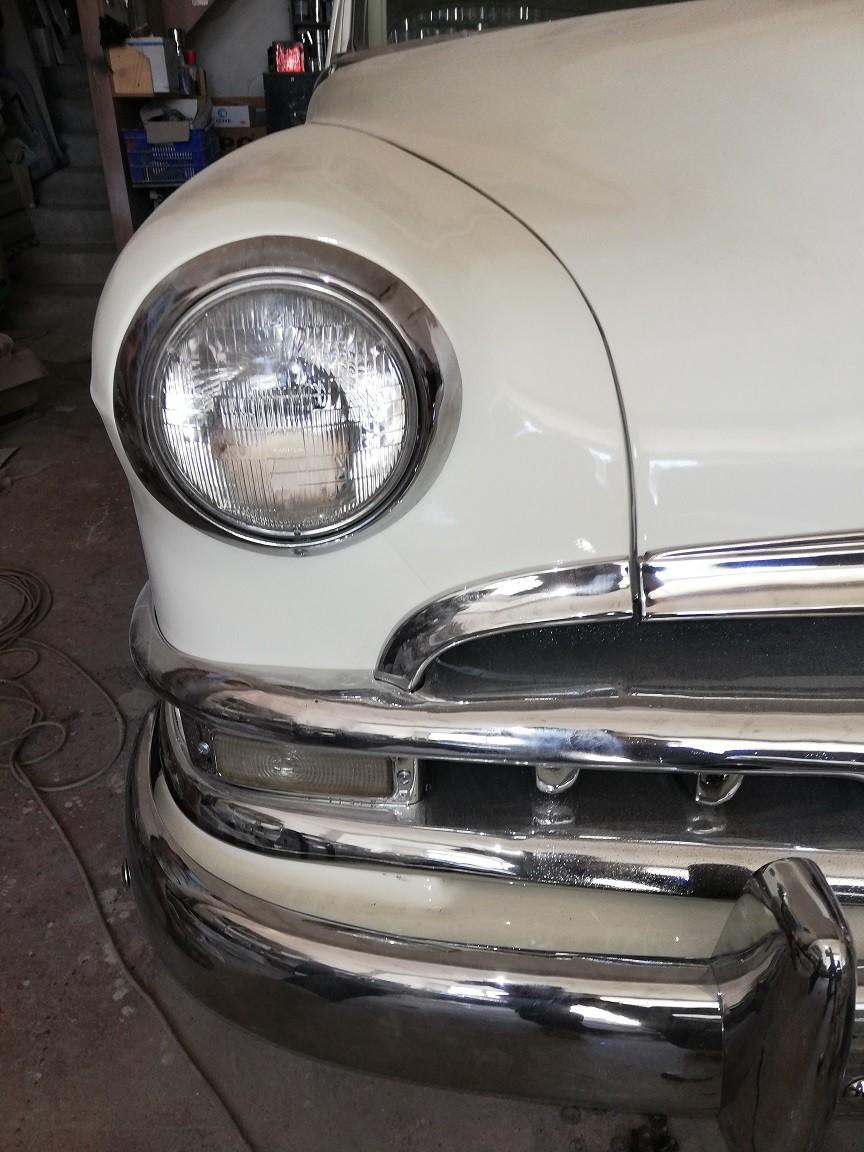 Amerikan arabası 50 model Pontiac'ı yeniden revize eden ustadan bir tarihe tanıklık etmenin heyecanı...