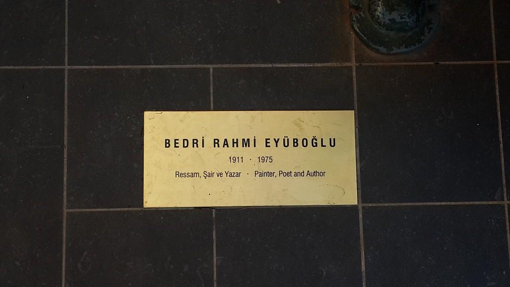 Bedri Rahmi Eyüboğlu da unutulmamış isimler arasındaydı.