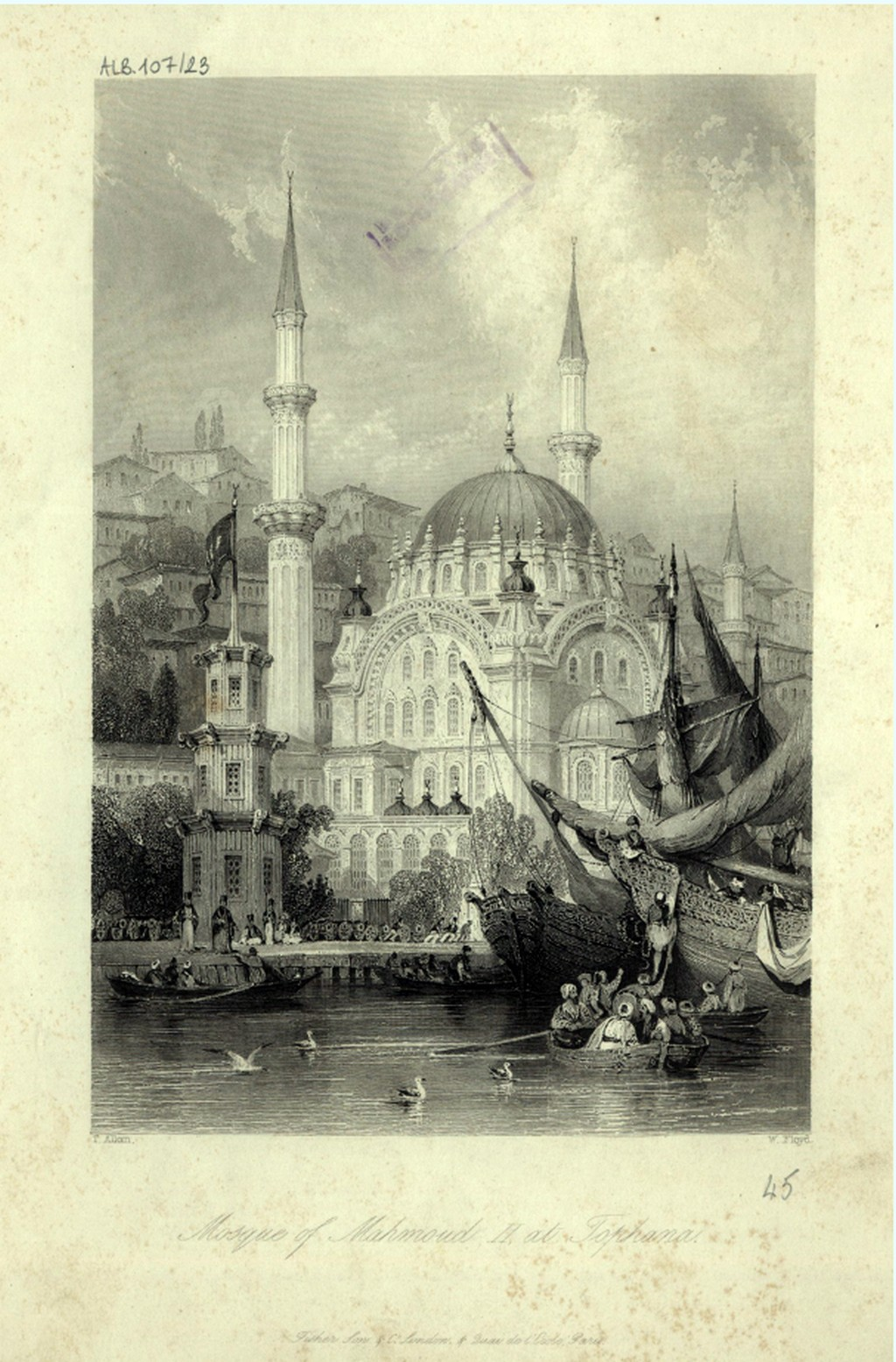 O dönemde binalar o kadar azmış ki, bu fotoğrafın çekildiği yerden karşısındaki yapılar seçilebiliyor.