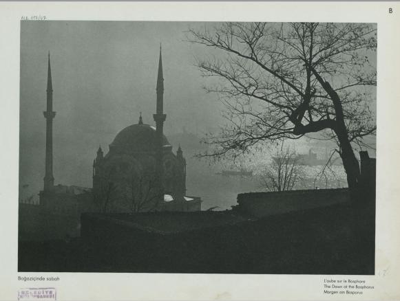 Fotoğraf: Boğaziçi'nde sabah.