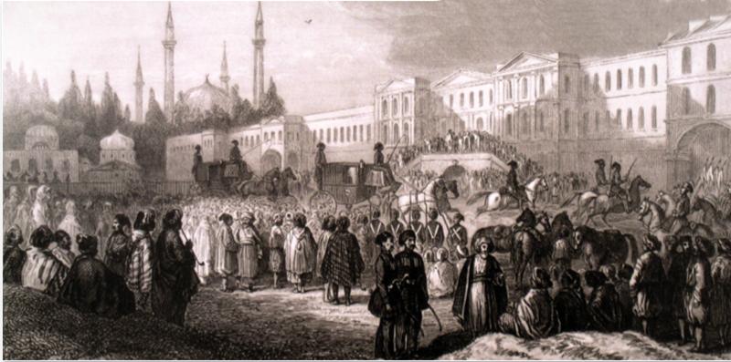 """(Osmanlı-Rus Savaşı bitince İstanbul'daki sevinç gösterileri-1812) 1812'DEKİ VEBA SALGINI İSTANBUL'DA 1 YILI AŞKIN DEVAM ETTİ İstanbul'da 1811 yılının sonlarında ortaya çıkan bu salgın, 1813 yılının başlarında bitti.  İzmir'den gelen bir ticaret gemisi yüzünden İstanbul'da veba salgını baş gösterince, kısa sürede 3 bin kişi öldü.  KITLIK YAŞANDI 1811-1812 yılları arısındaki veba salgını İstanbul'da birçok sıkıntının yaşanmasına neden oldu. Yiyecek, yakacak gibi temel ihtiyaçlarda kıtlık yaşandı.  OSMAN DEVLETİ'NİN ÖNLEMİ EVDE KALMAK OLDU Vakanüvis ve hekim Şanizade Ataullah Efendi, İstanbul'da baş gösteren bu veba salgını sırasında ailesiyle birlikte evine kapandı. Hastalığa karşı tedbir alınması ve bu doğrultuda özellikle """"tecrit"""" uygulanmasına gidilmesi gerektiği konusunda uyarıda bulundu."""