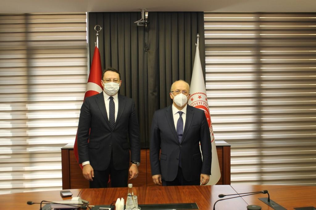 Marmaris Ticaret Odası üyeleri taleplerini Ankara'ya iletti