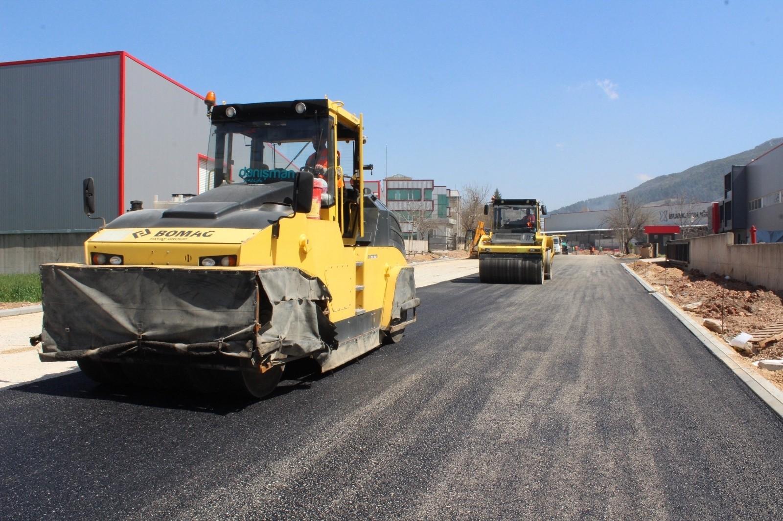 BOSAB'da asfalt hamlesi