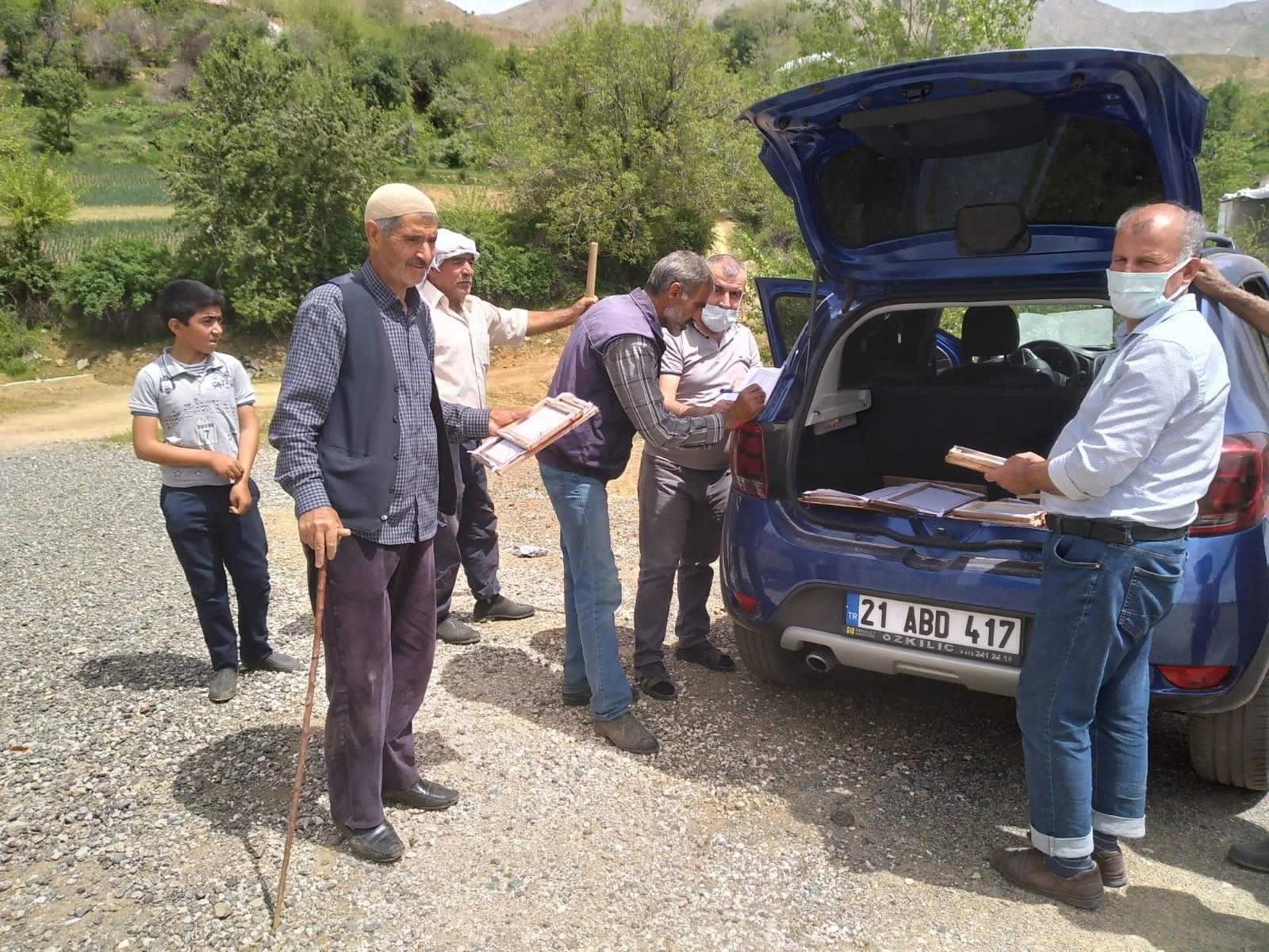 Kulp'ta ipek böceği üretim sezonu açıldı