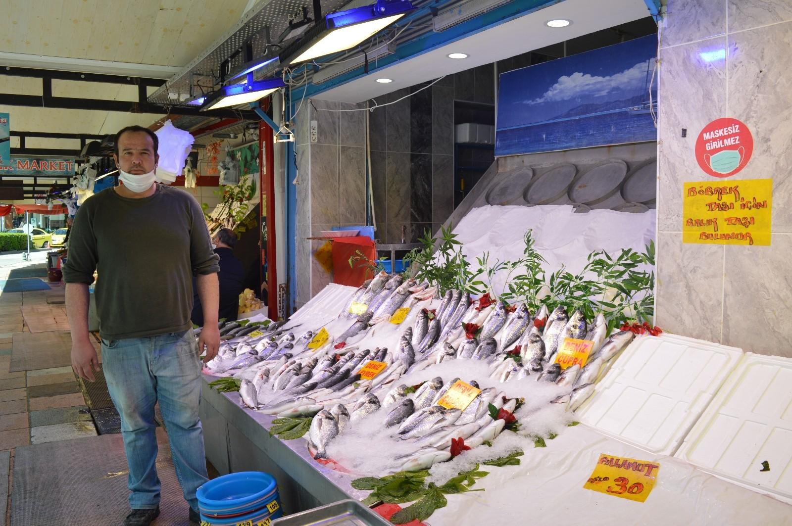 Kısıtlamada balık satışları neredeyse sıfıra indi