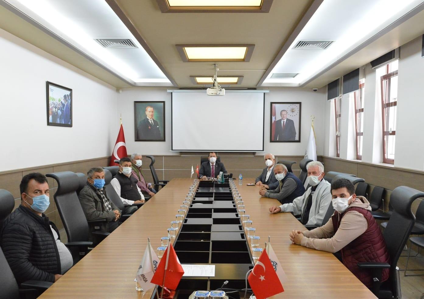 Süleymanpaşa'da seracılıkla ilgilenen çiftçilere müjde