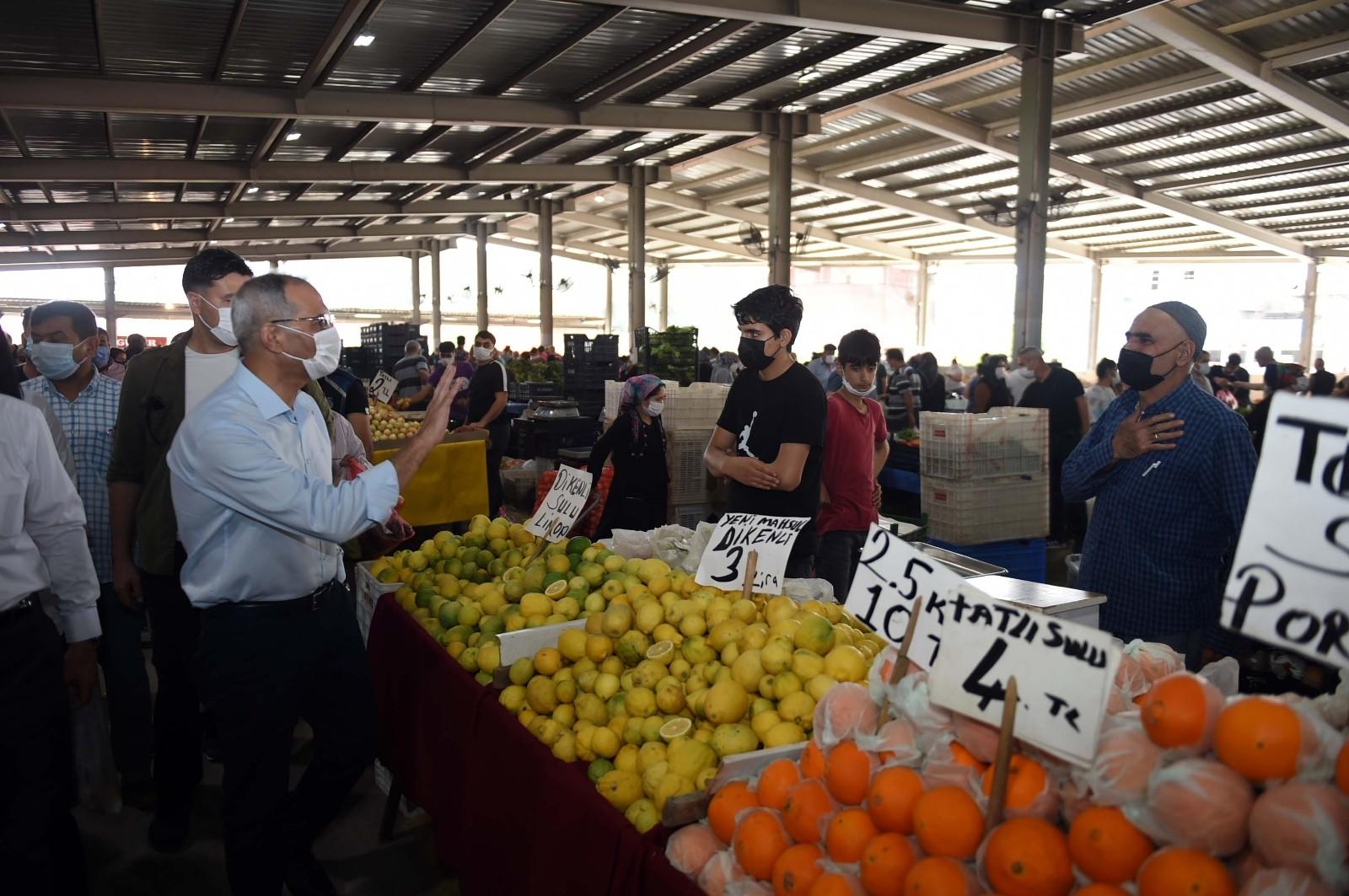 Başkan Bozdoğan, tarım işçileriyle buluştu