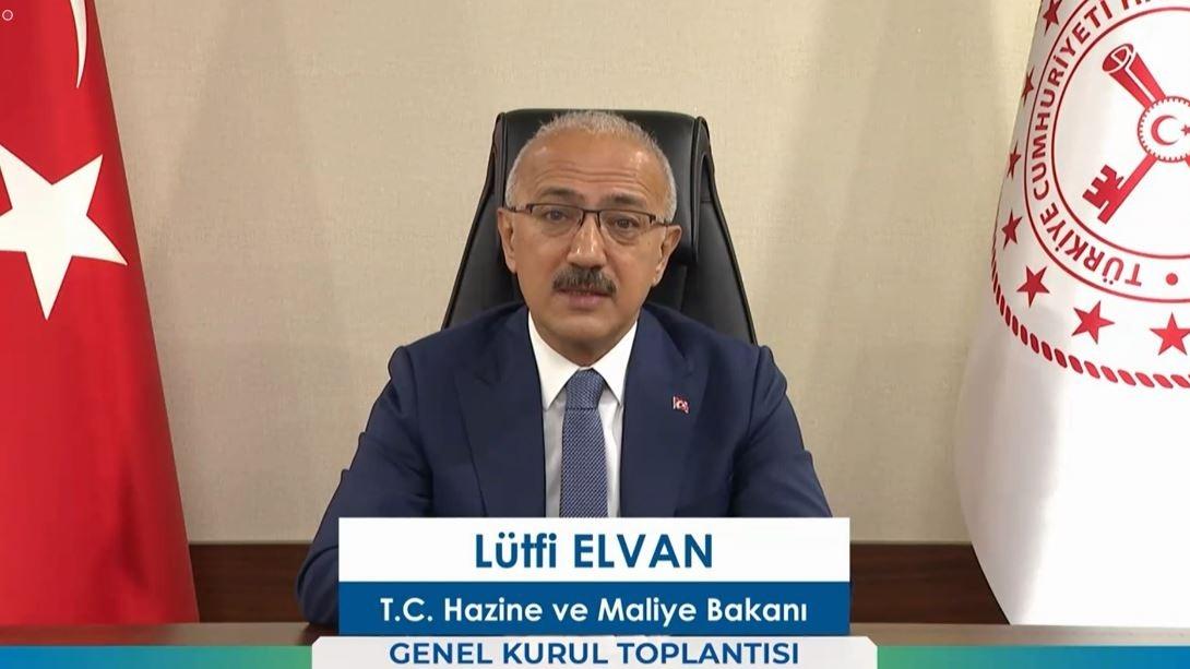 """Bakan Elvan, """"Bireysel emeklilik şirketlerinin fon büyüklüğü 183 milyar lirayı aştı"""""""