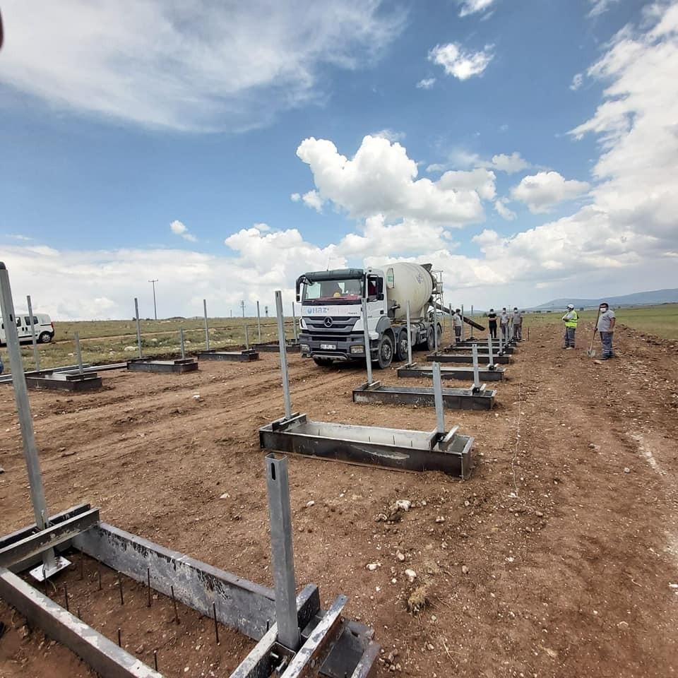 Hacıkebir köyüne ''Güneş Enerji Sistemi''