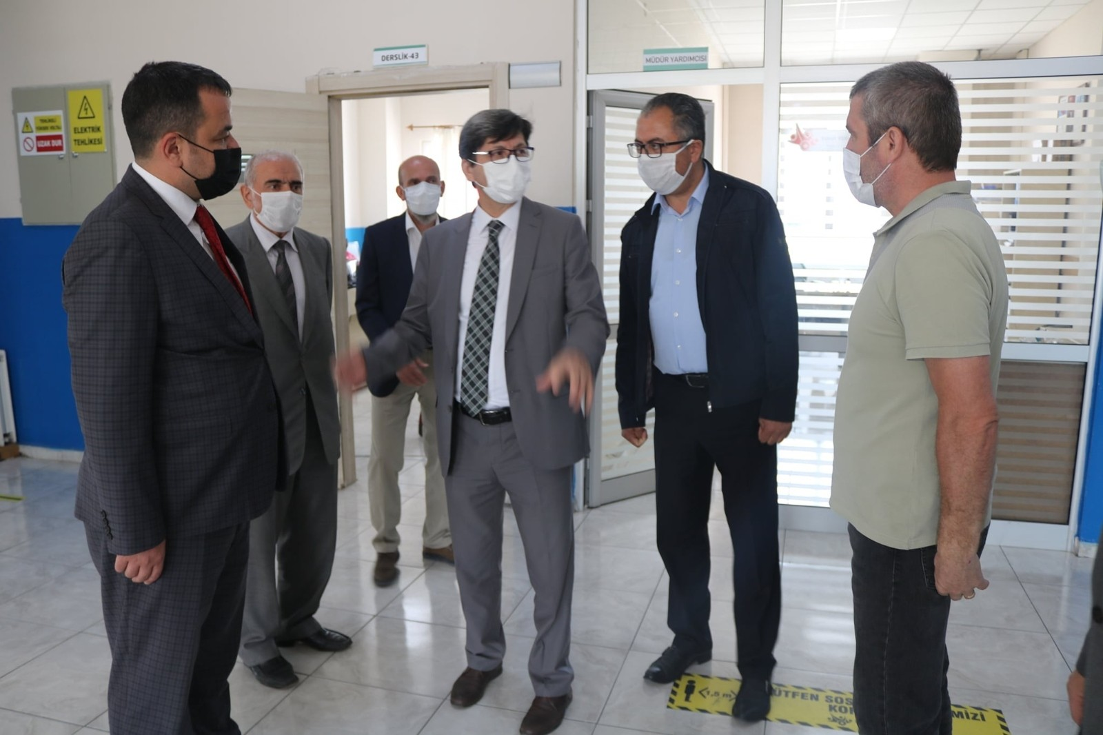 """İl Milli Eğitim Müdürü Metin Yalçın """"Artuk Avition gurur verici bir yatırım"""""""