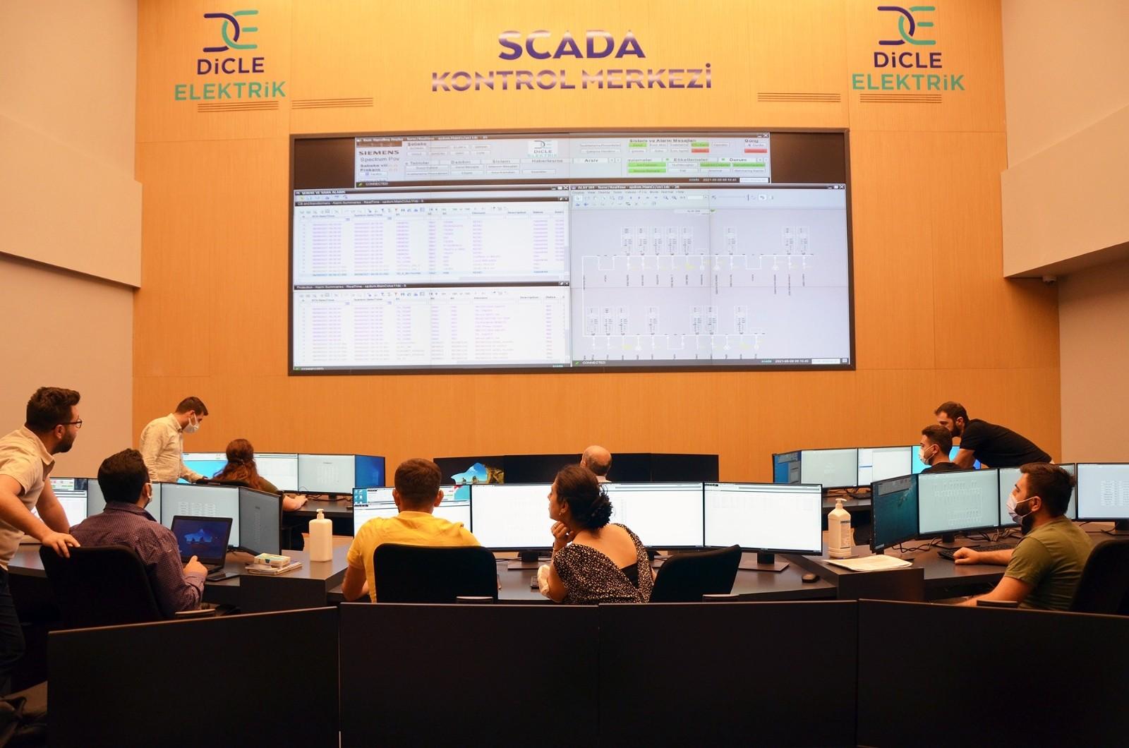 Dicle Elektrik, 59 milyon liralık yatırımla SCADA merkezi kurdu
