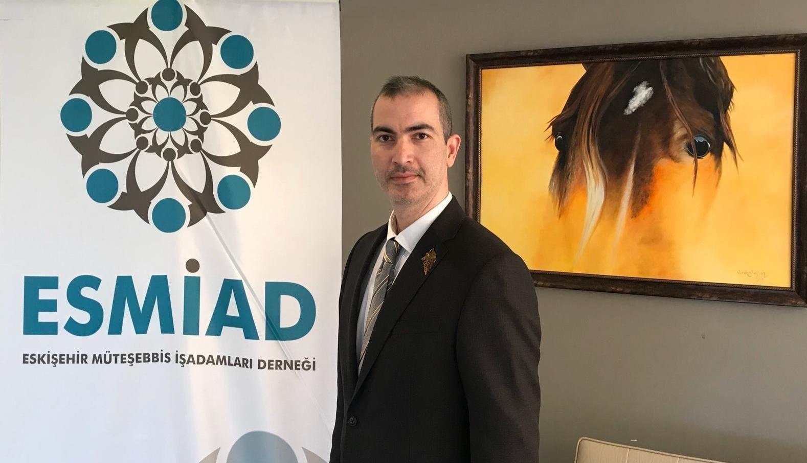 """ESMİAD Başkanı Seyhan: """"Fuarlar şehre katkı sağlıyor"""""""