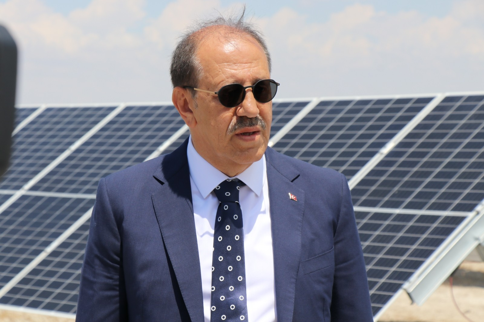 """Kalyon Holding Yönetim Kurulu Başkanı Kalyoncu: """"Santral tamamlandığında Avrupa'nın en büyük, dünyan"""