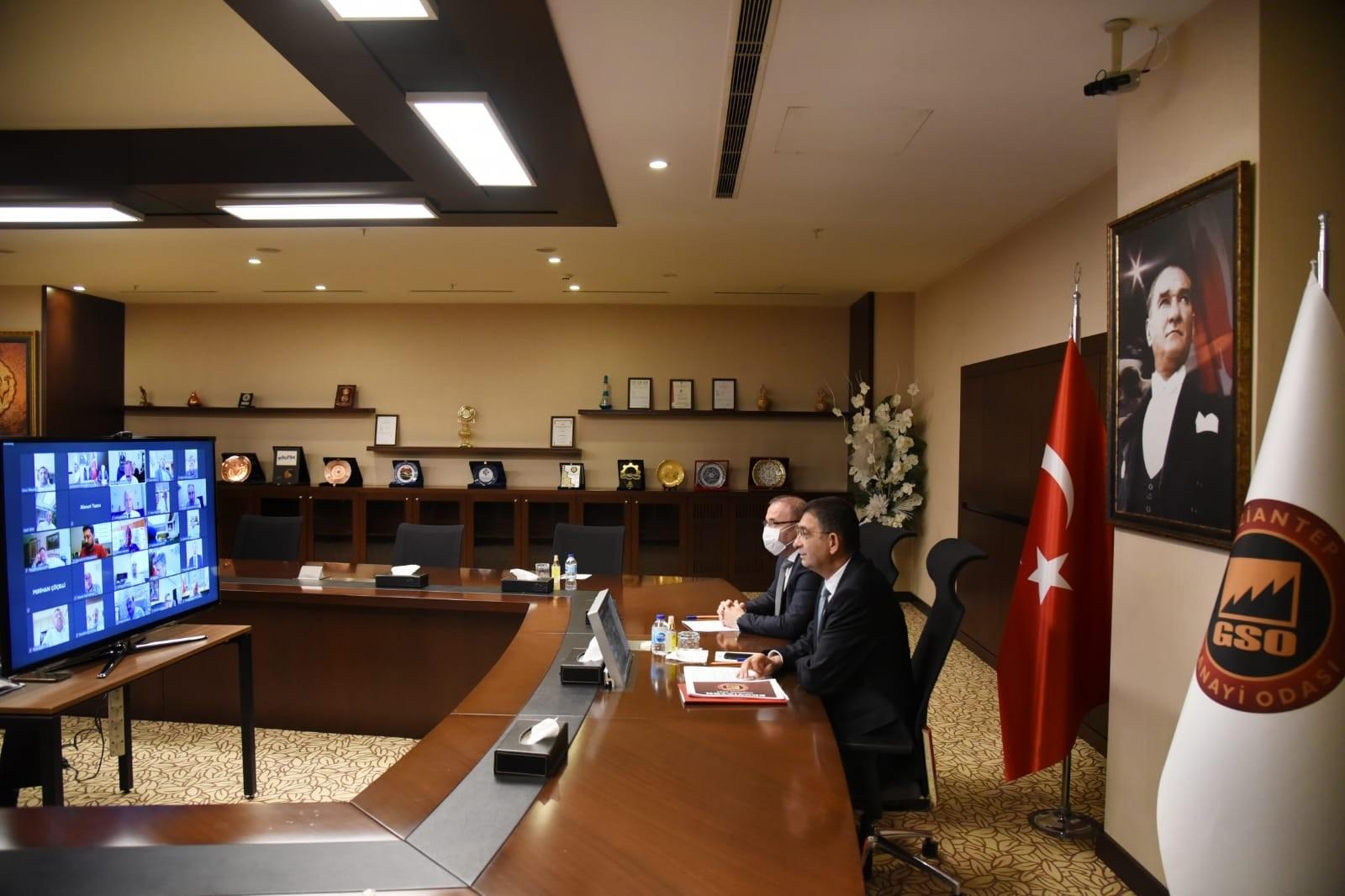 GSO Haziran ayı meclis toplantısı gerçekleştirildi