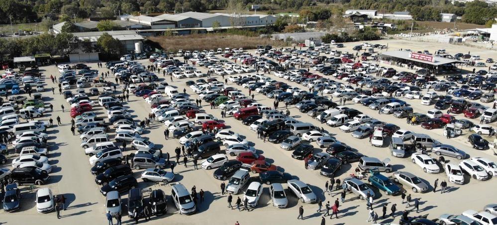 Denizli'de otomobil sayısı yüzde 4,9 arttı