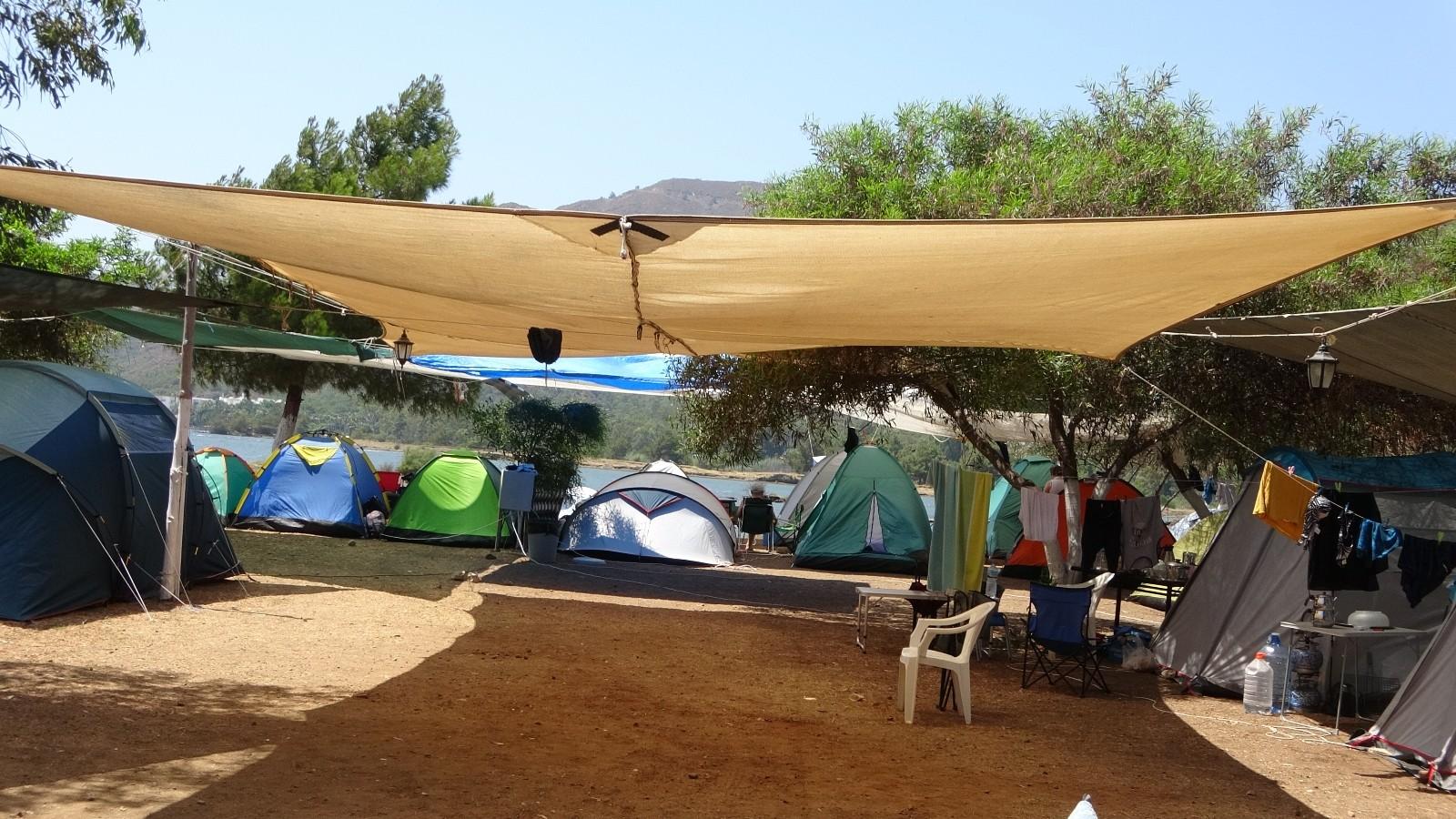 Kurban Bayramı tatilinde kamp alanları doldu
