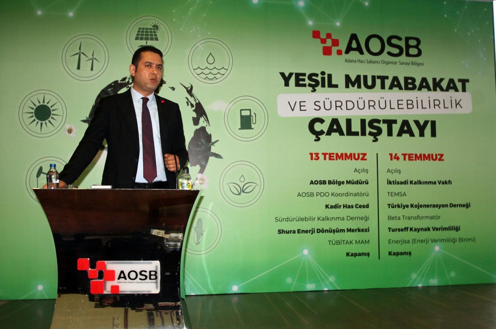 AOSB'de 'Yeşil Mutabakat'ın ilk adımı atıldı