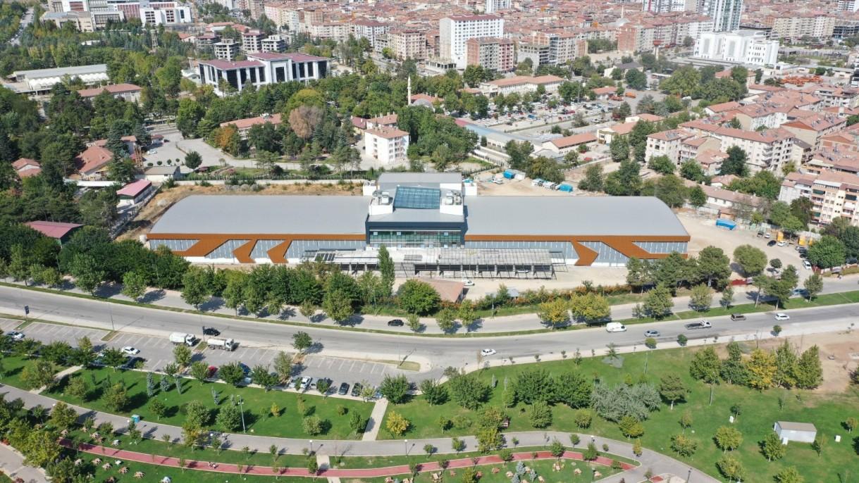 Elazığ Fuar ve Kongre Merkezi inşasında sona gelindi