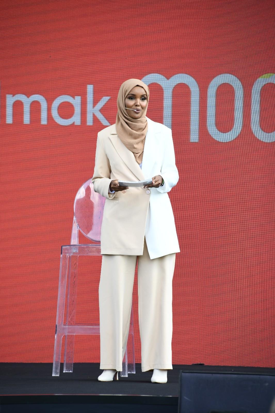 Modanisa global mottosunu Halima Aden ile duyurdu