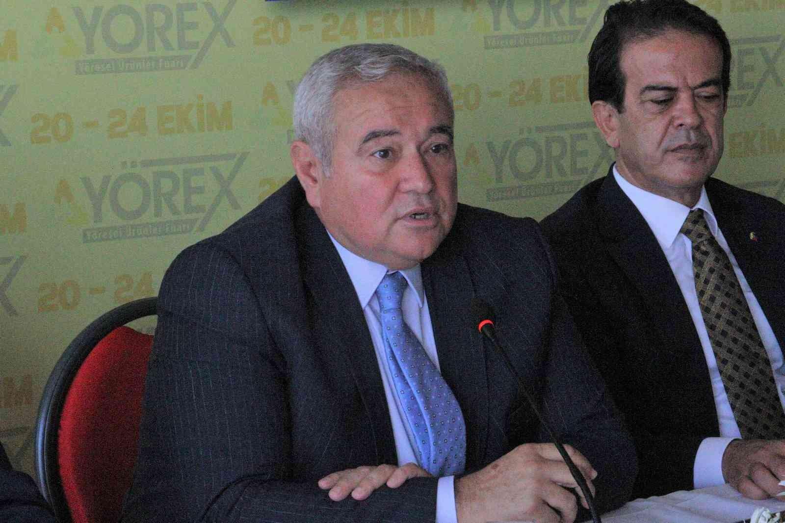 """ATB Başkanı Çandır: """"Dünyaya 20 milyar euroluk coğrafi ürün satabilecek potansiyele sahibiz"""""""