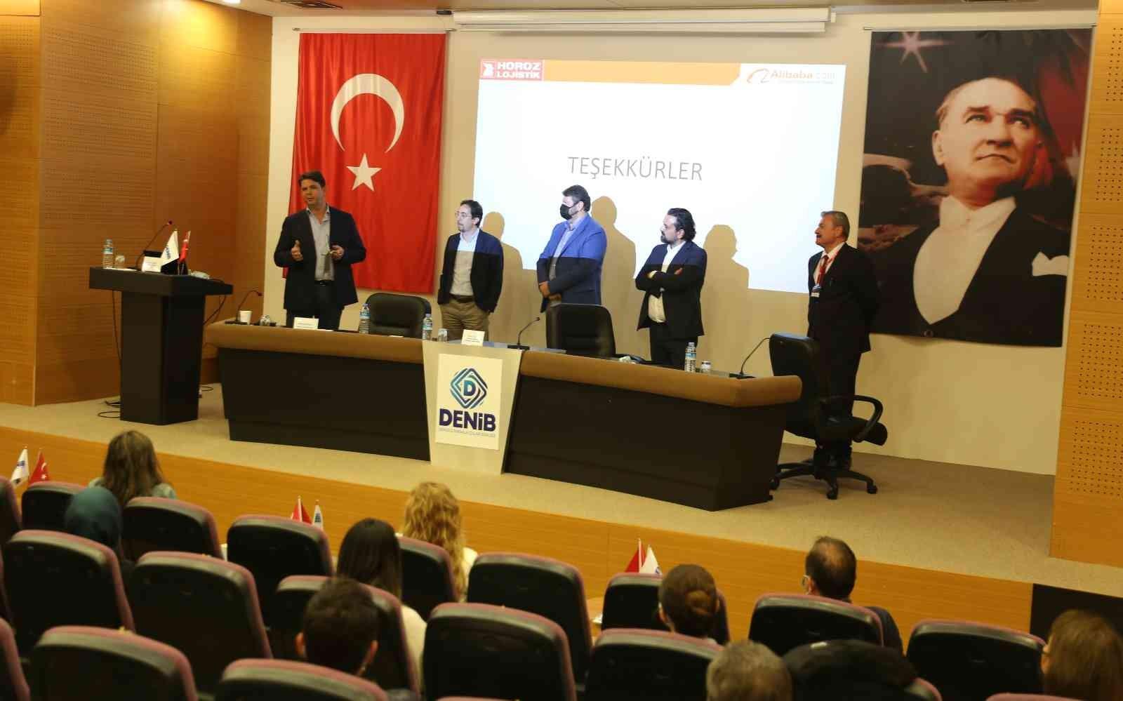 DENİB ev sahipliğinde 'E-İhracat Lojistik Stratejileri Konferansı' düzenlendi