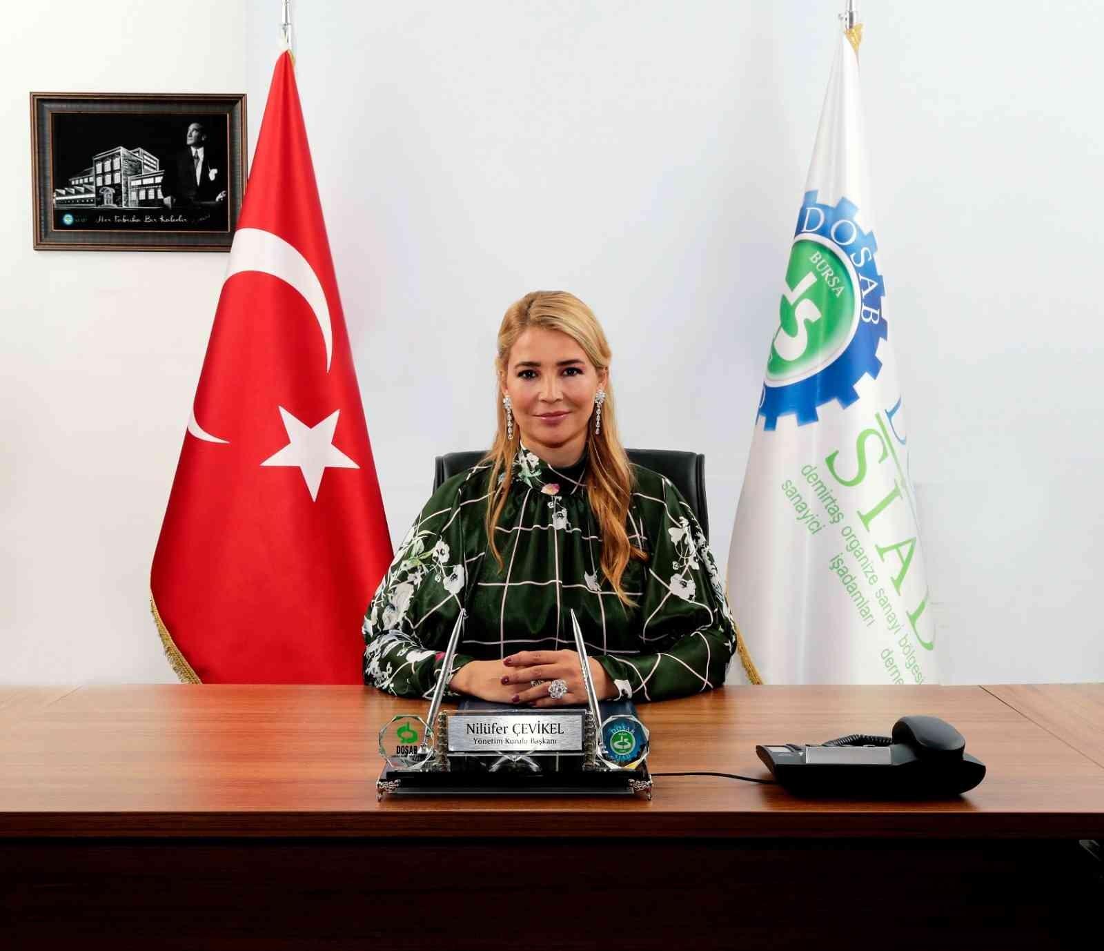 DOSABSİAD Yönetim Kurulu Başkanı Çevikel'den çevre açıklaması: