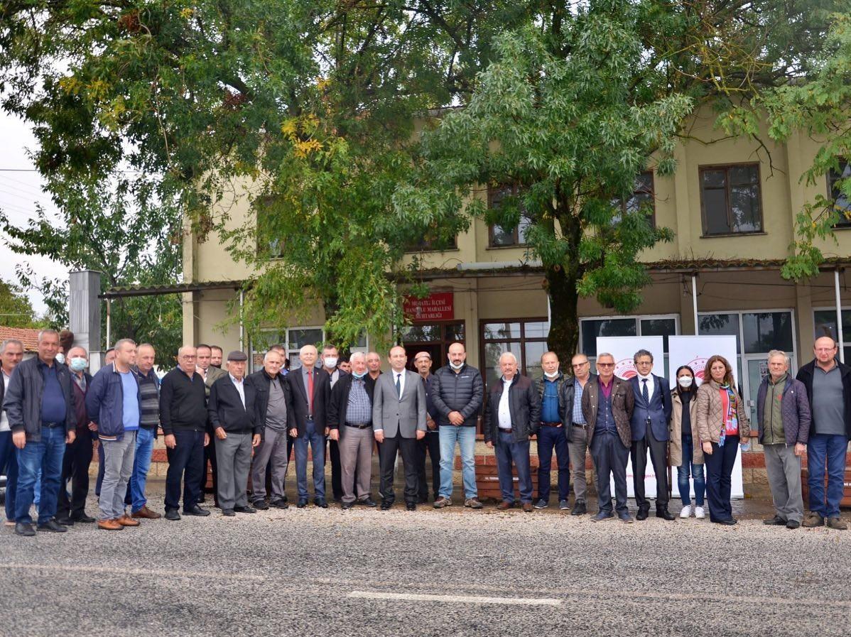 Muratlı'da 20 ton sertifikalı yem bezelyesi tohumu dağıtıldı