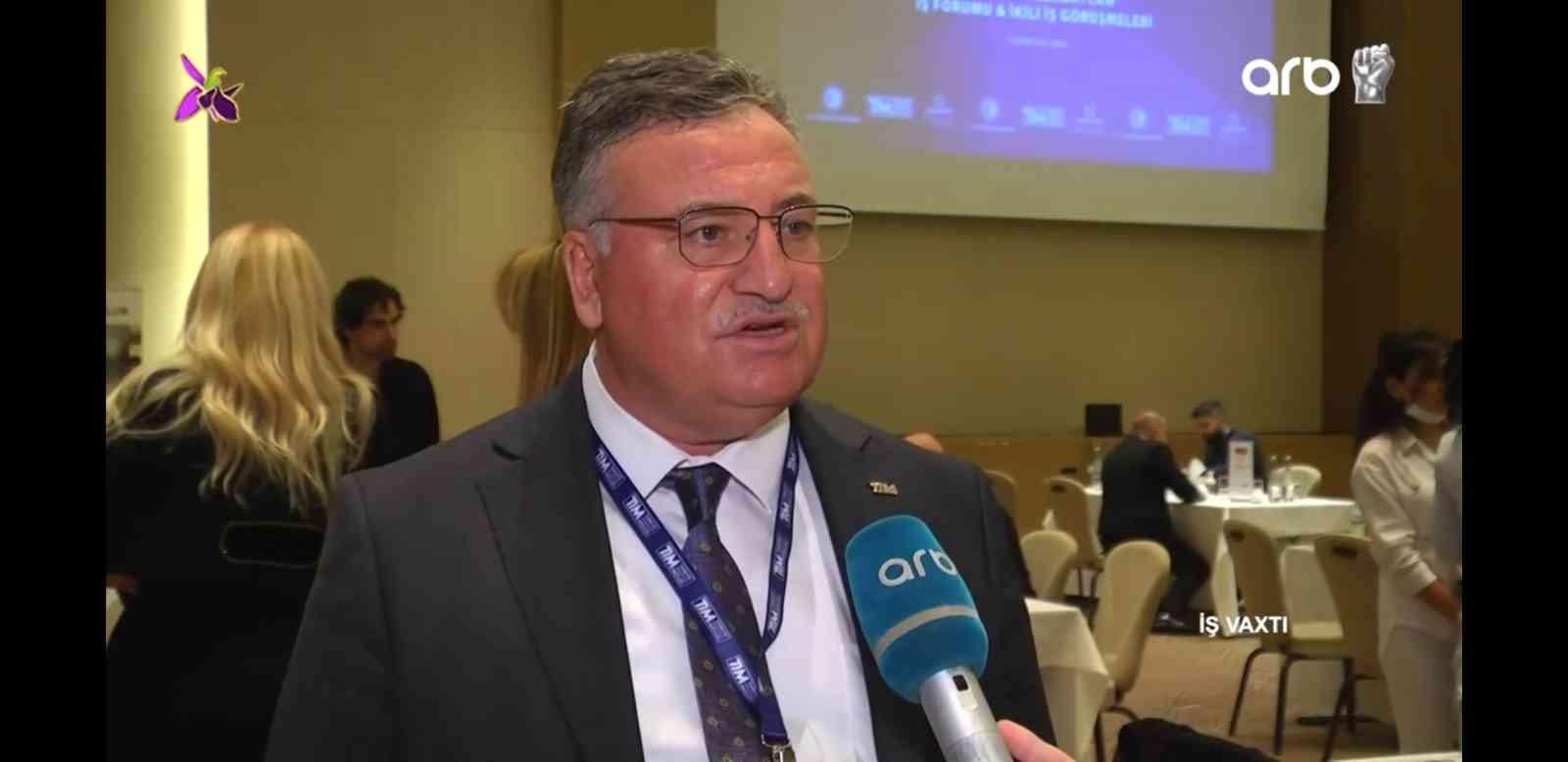 Türkiye Azerbaycan İş Forumu Bakü'de başladı
