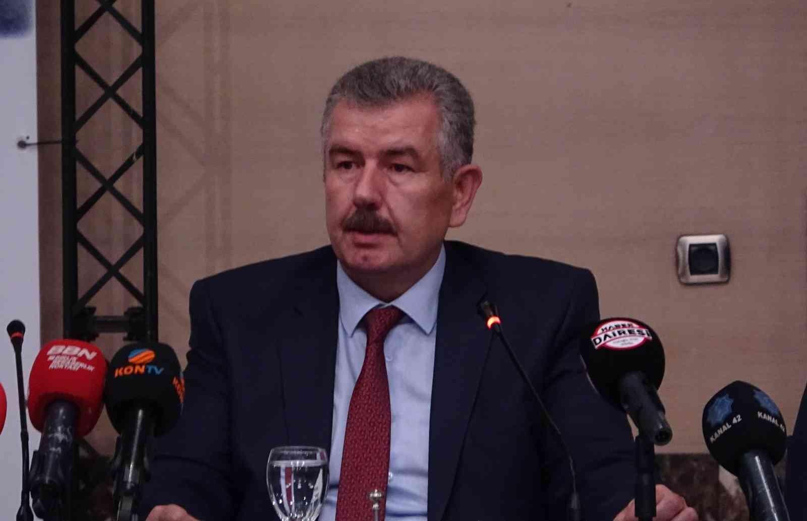 Özkan Taşpınar, Konya Pancar Ekicileri Kooperatifi başkanlığına aday
