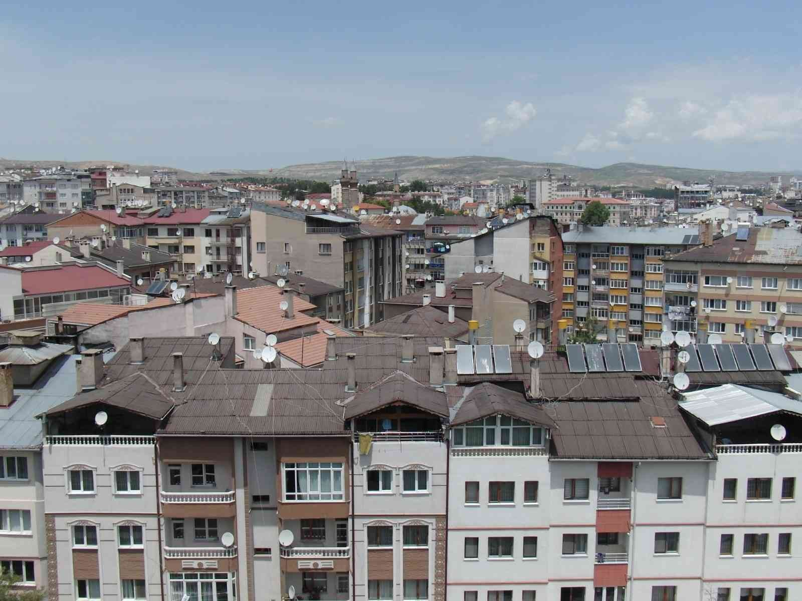 Sivas'ta konut satışında düşüş