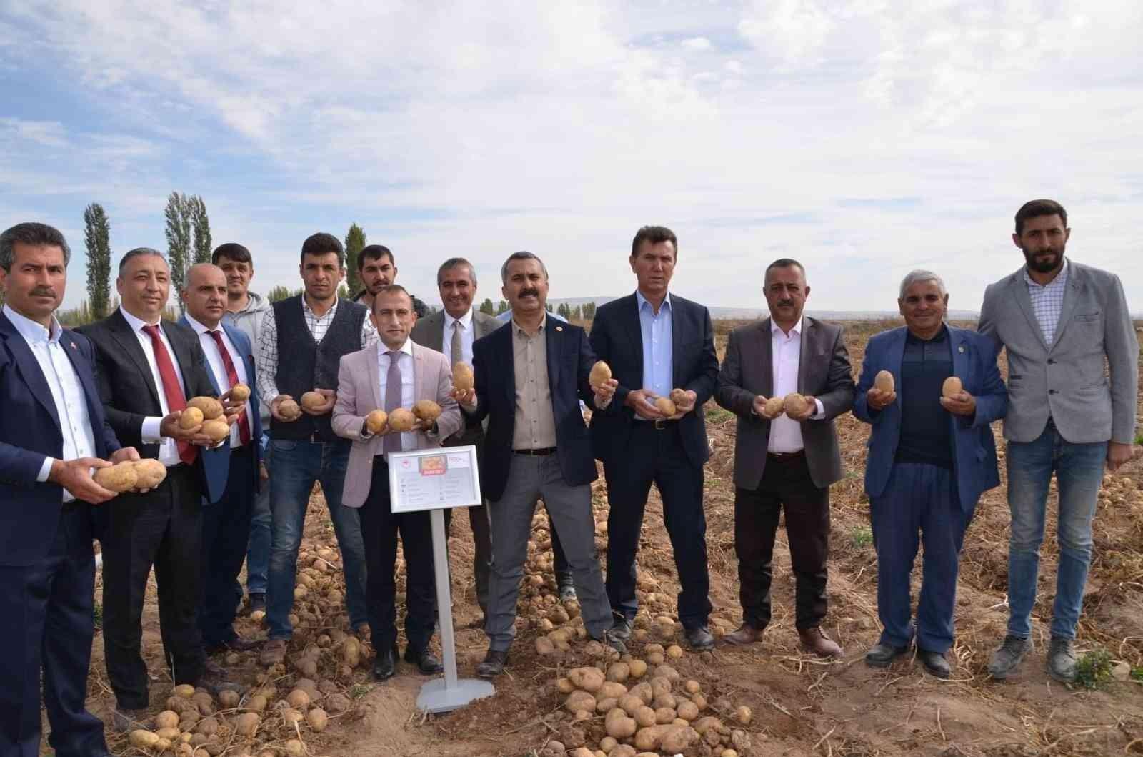 Yerli ve milli patates çiftçilere tanıtıldı
